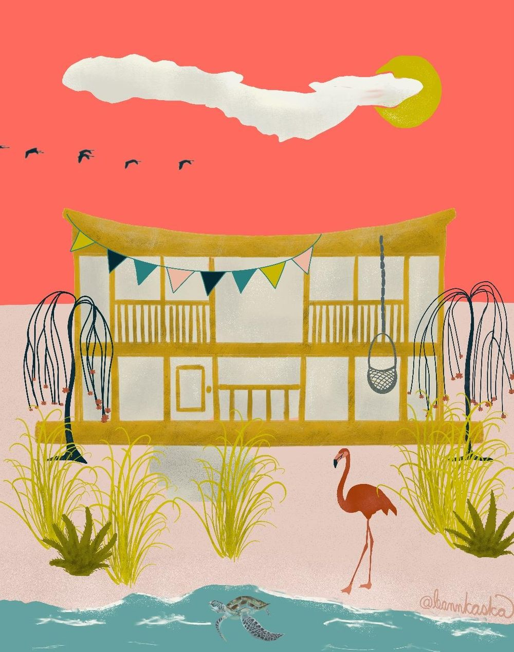 Salty Sea Dream House - image 2 - student project
