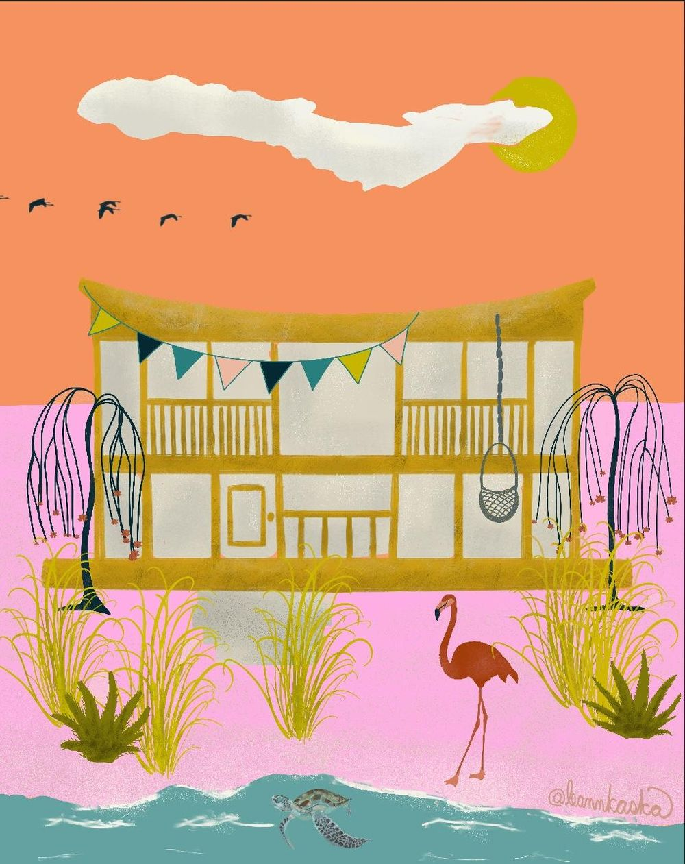 Salty Sea Dream House - image 1 - student project