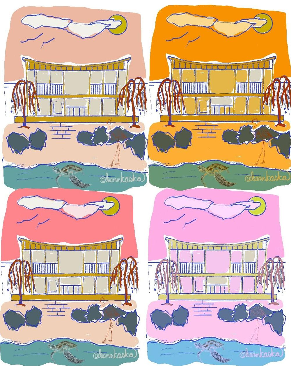 Salty Sea Dream House - image 4 - student project
