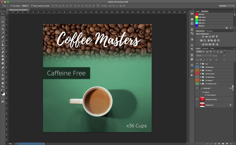 Coffee Flavors - image 1 - student project