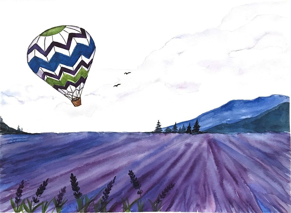 Hot Air Balloon - image 1 - student project