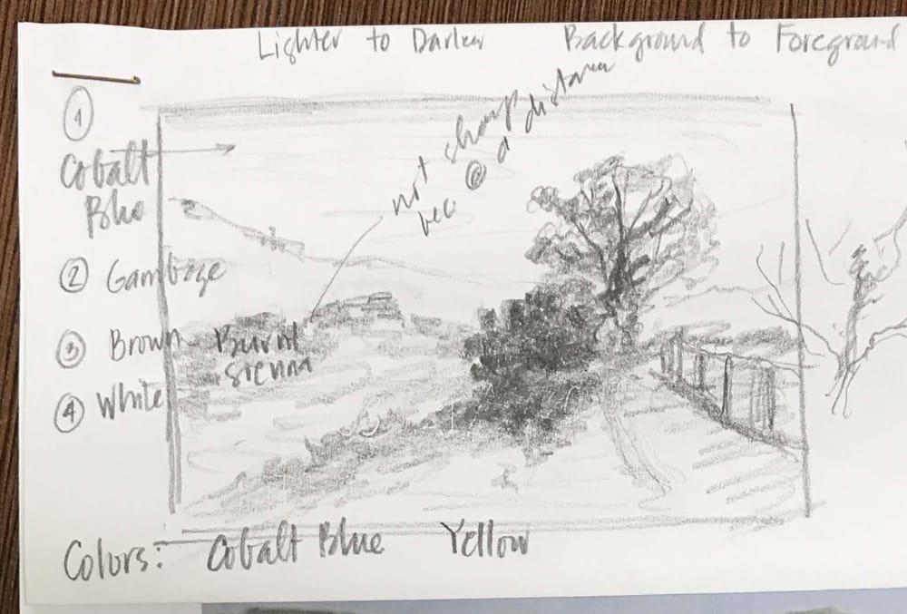 Landscape #1 - image 1 - student project