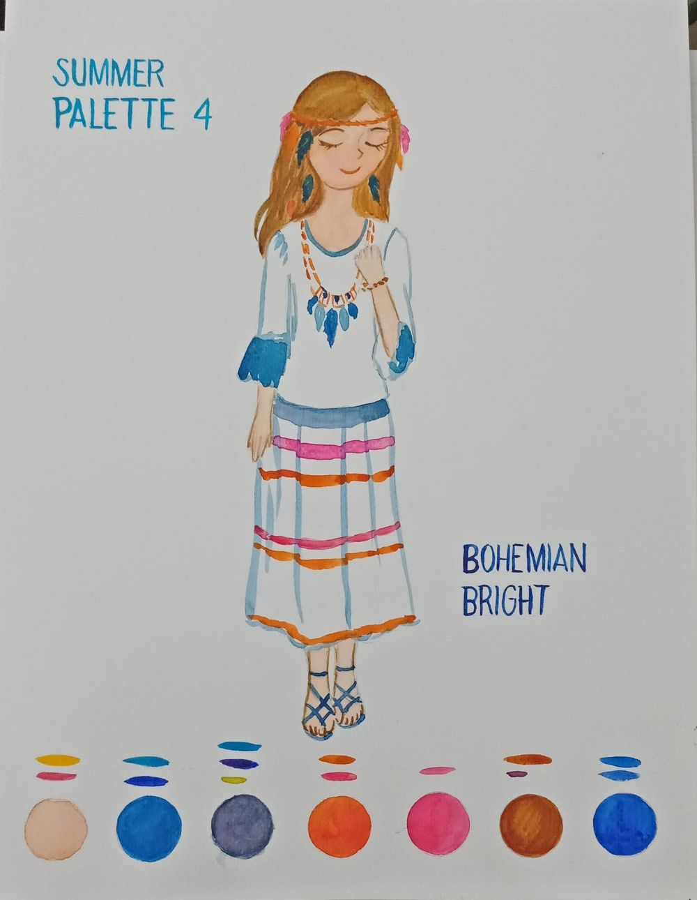 BOHEMIAN BRIGHT - image 2 - student project