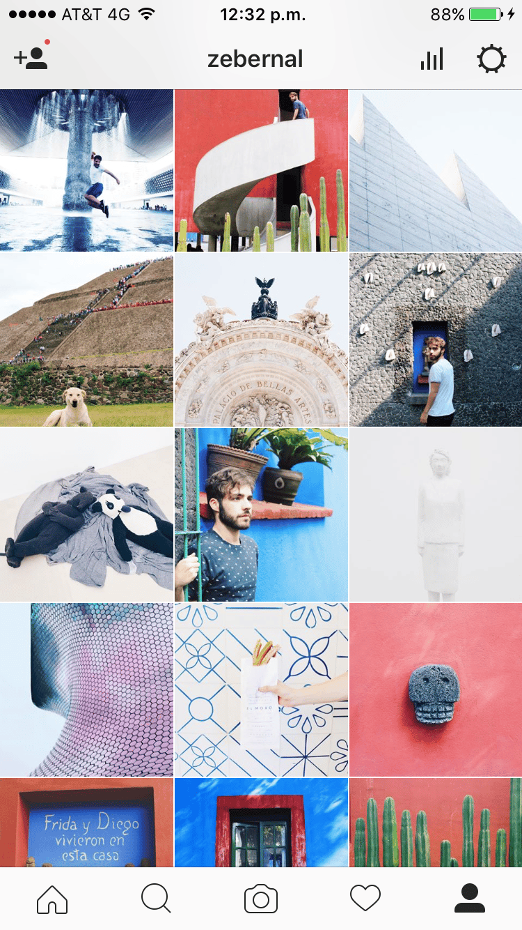 Photos that represent my instagram - image 3 - student project