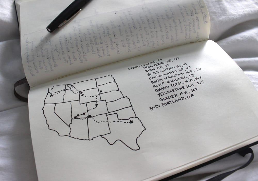 A Visual Bucket List Focused on Washington and Oregon - image 2 - student project
