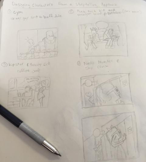 Time to Draw - image 1 - student project