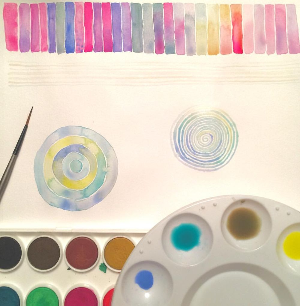 Marlys' Watercolor Projects - image 4 - student project