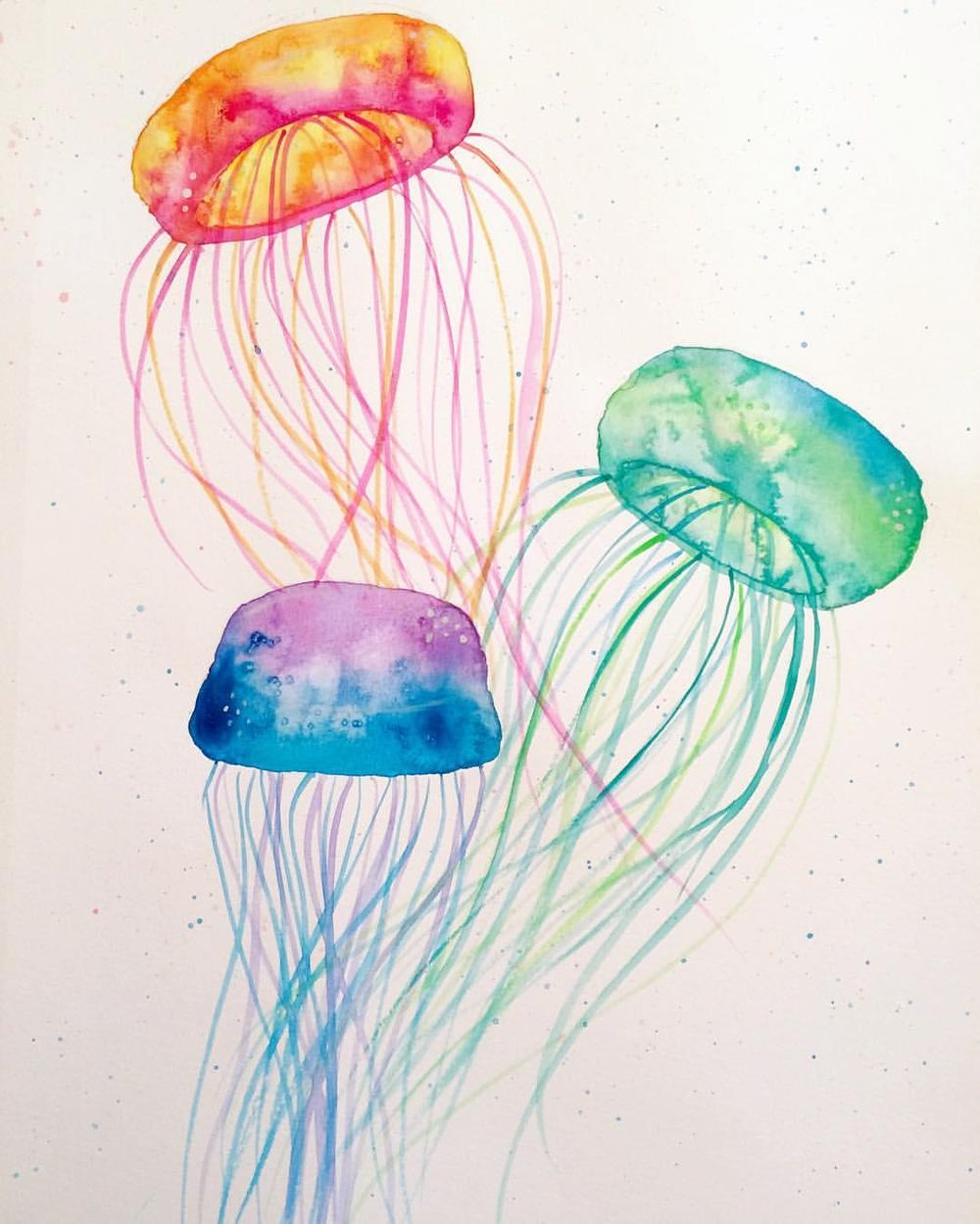 Marlys' Watercolor Projects - image 2 - student project