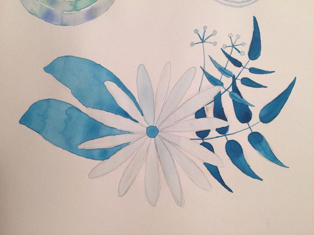 Marlys' Watercolor Projects - image 3 - student project