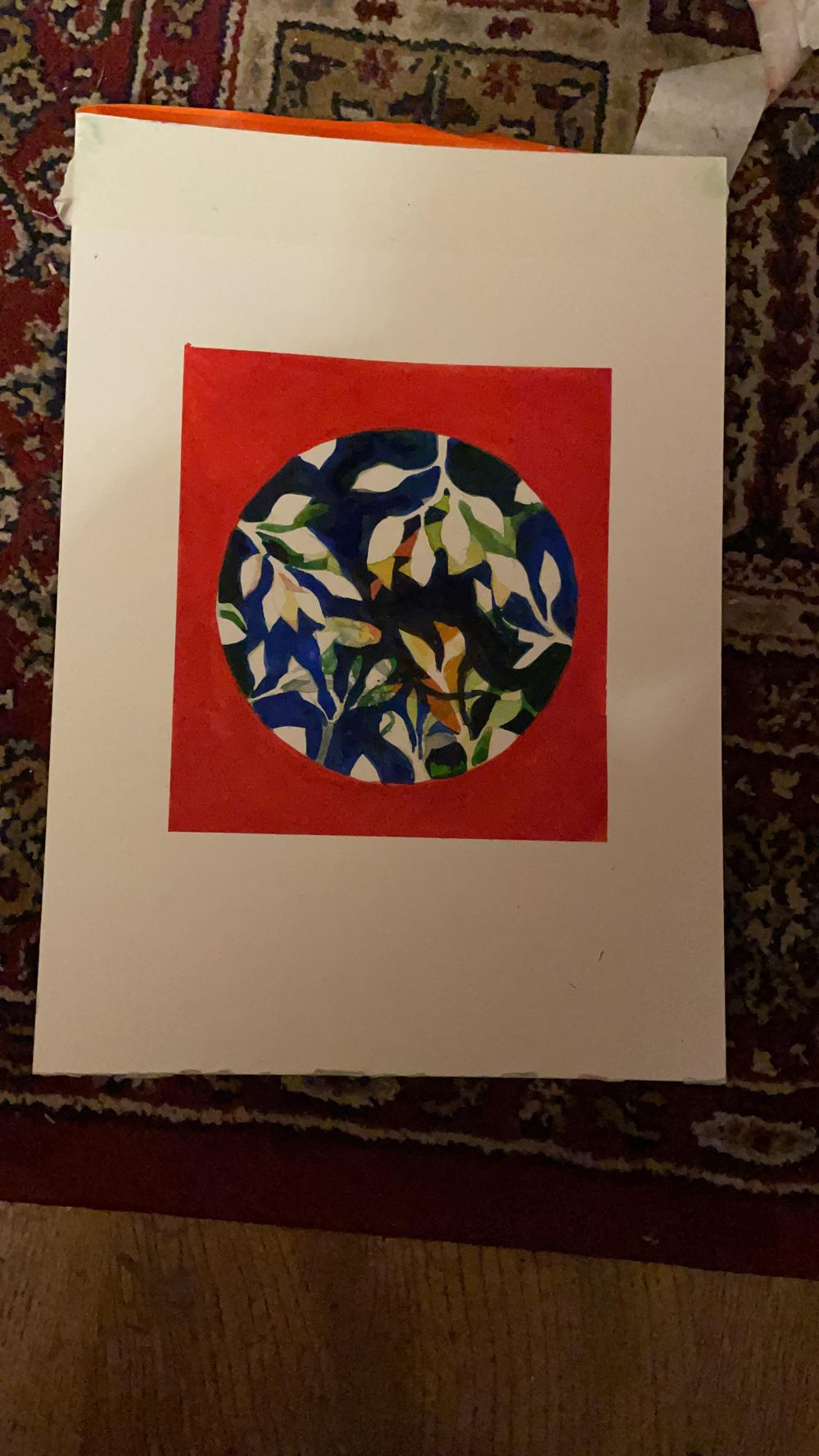 Negative water colours - image 1 - student project