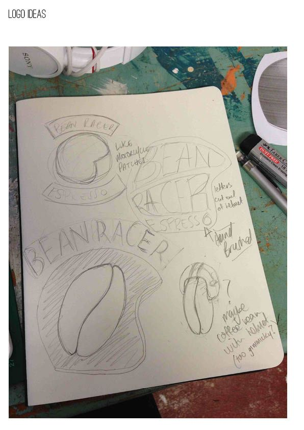 Label Design for Bean Racer Espresso - image 4 - student project