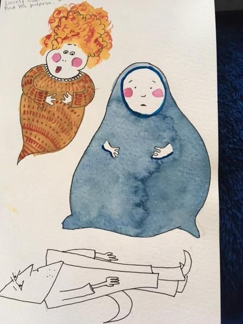shapely characters - image 1 - student project