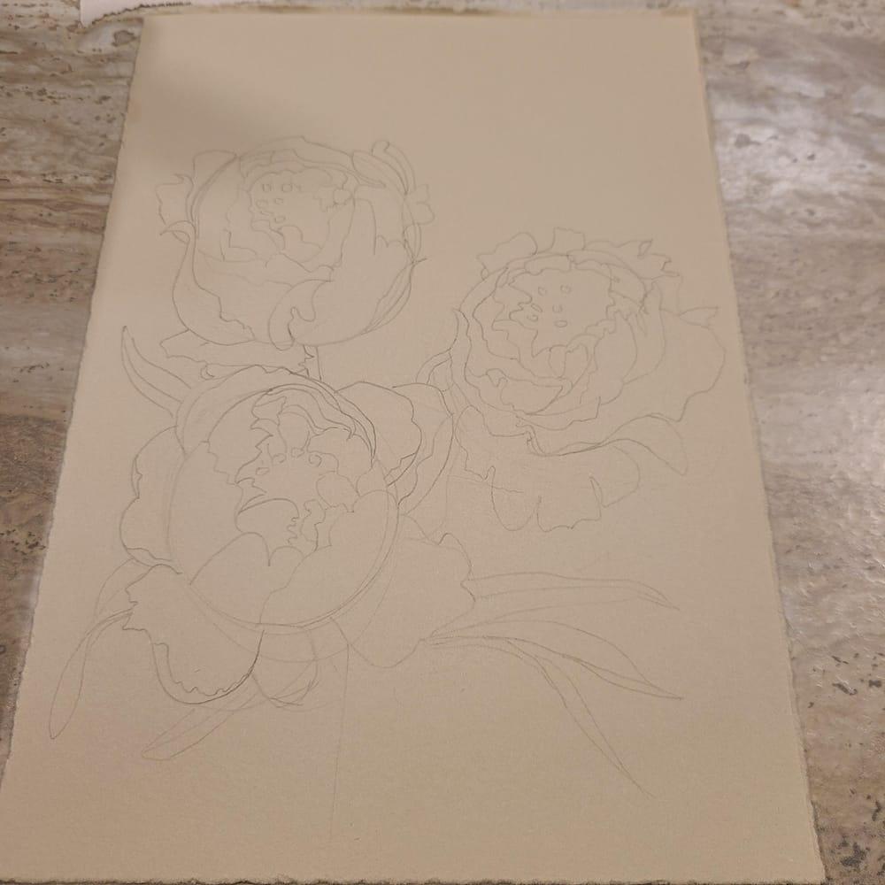 flower illustration - image 1 - student project