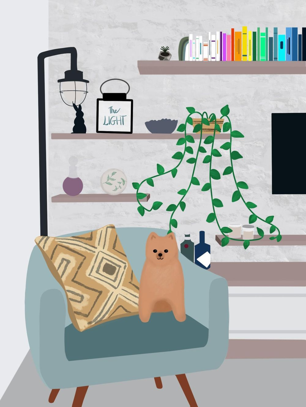 Living room - image 1 - student project