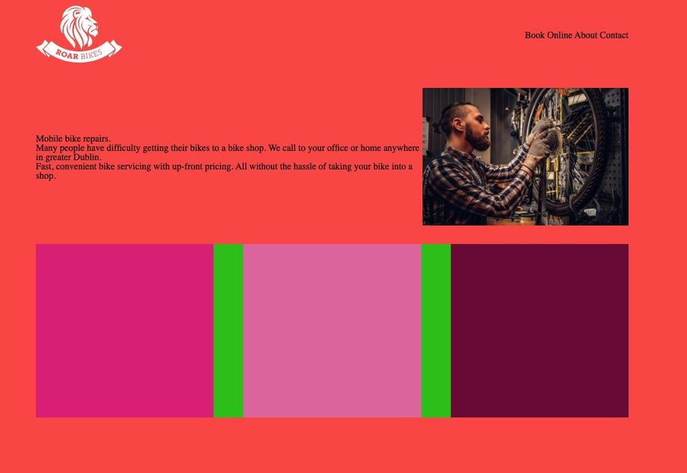 First steps in HTML - image 4 - student project