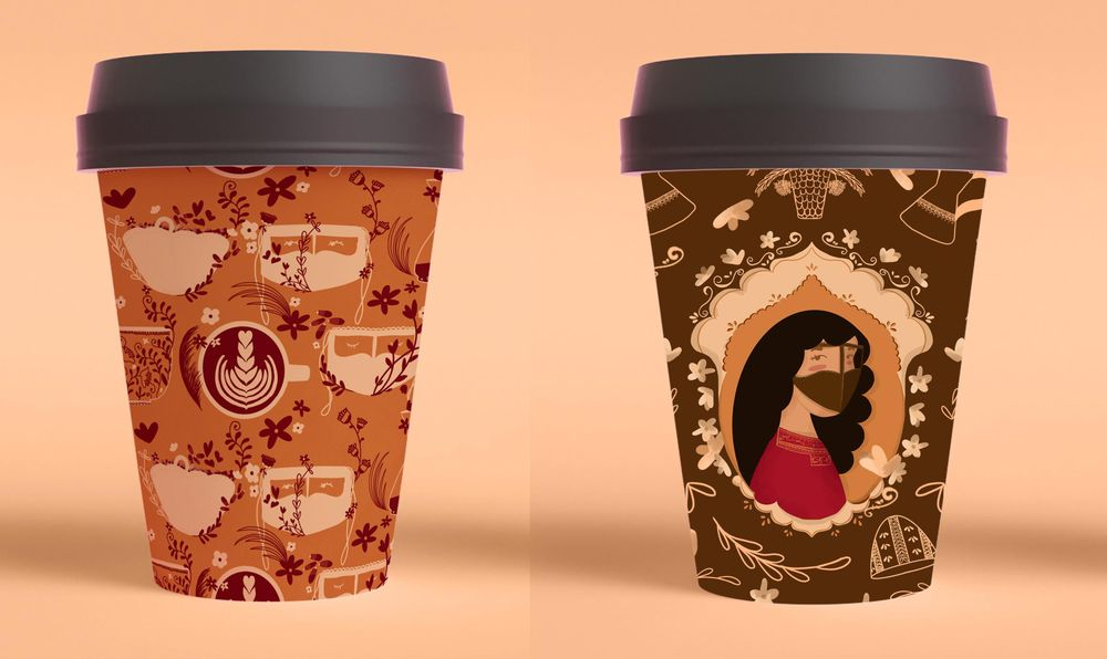 coffee mock up - image 1 - student project