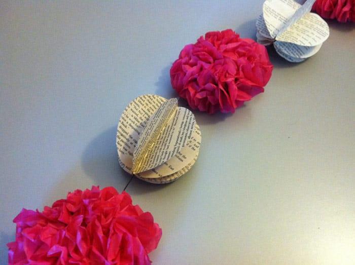 DIY Decorative Book Garland - image 8 - student project