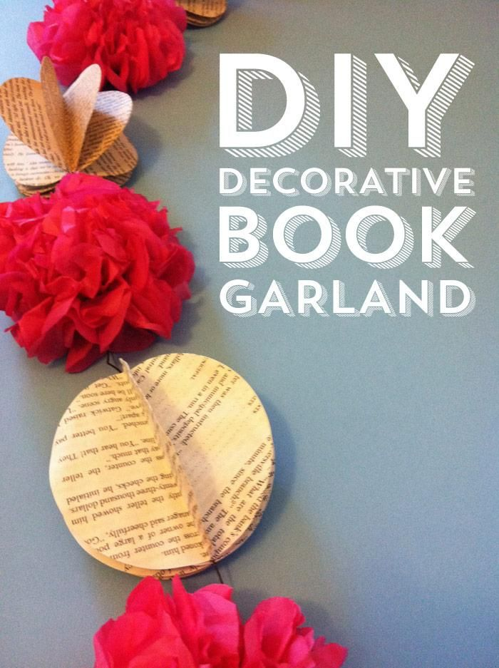 DIY Decorative Book Garland - image 1 - student project