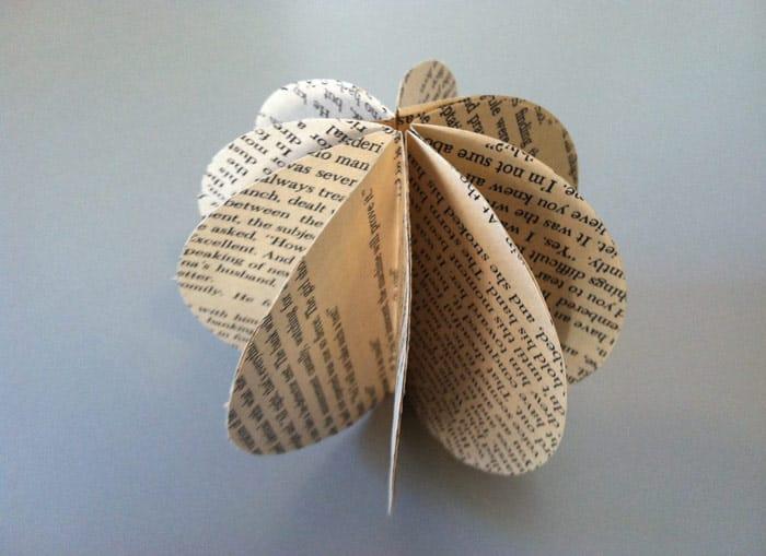 DIY Decorative Book Garland - image 3 - student project