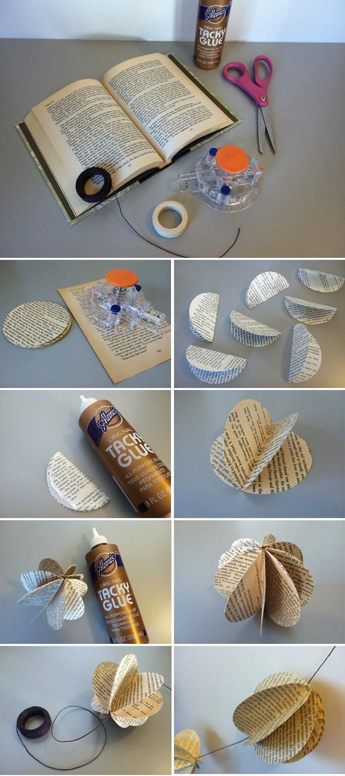 DIY Decorative Book Garland - image 2 - student project