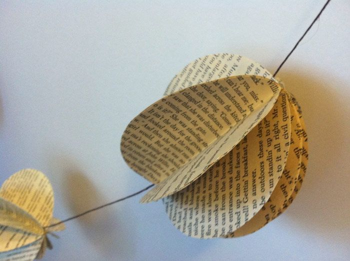 DIY Decorative Book Garland - image 4 - student project