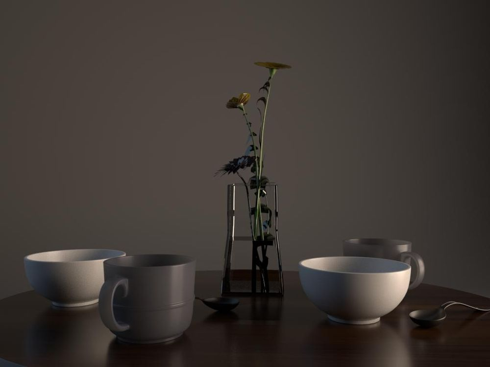Table_modeling_by_Maya - image 3 - student project