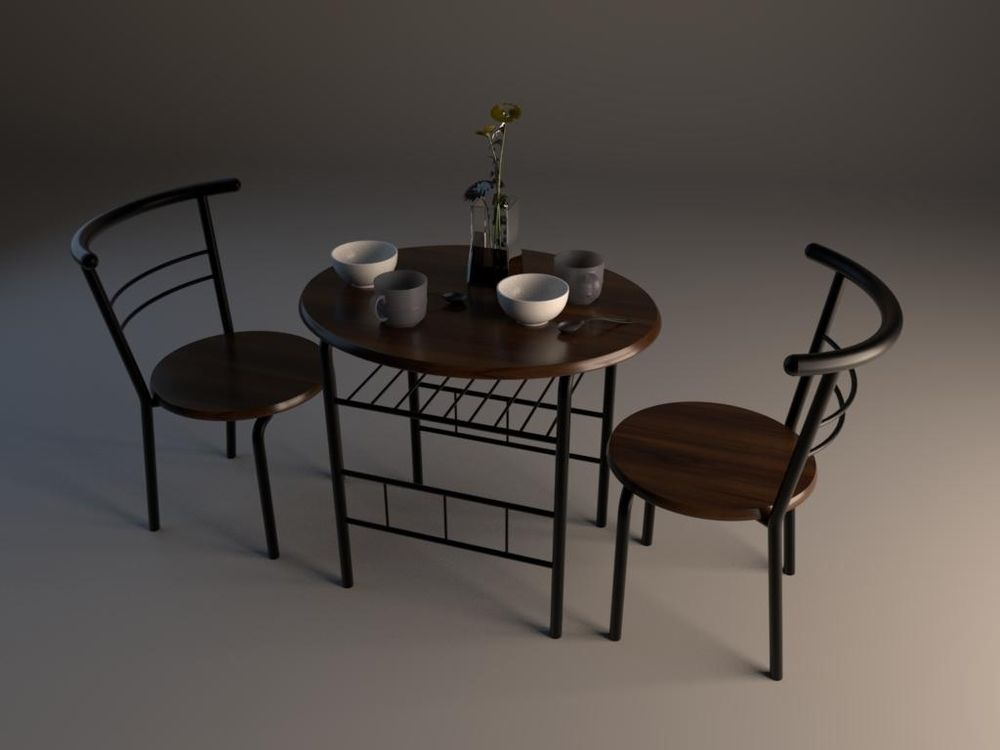 Table_modeling_by_Maya - image 2 - student project