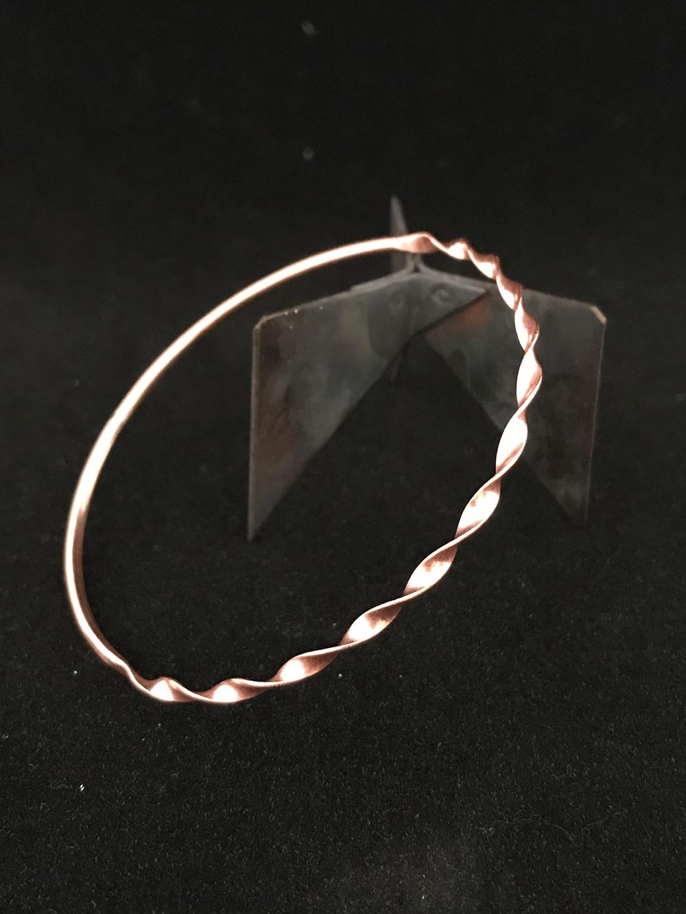 Twisted Ribbon Bangles - image 1 - student project