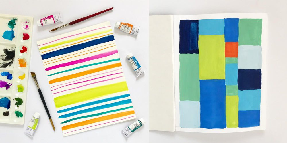 Painting with Gouache - image 1 - student project