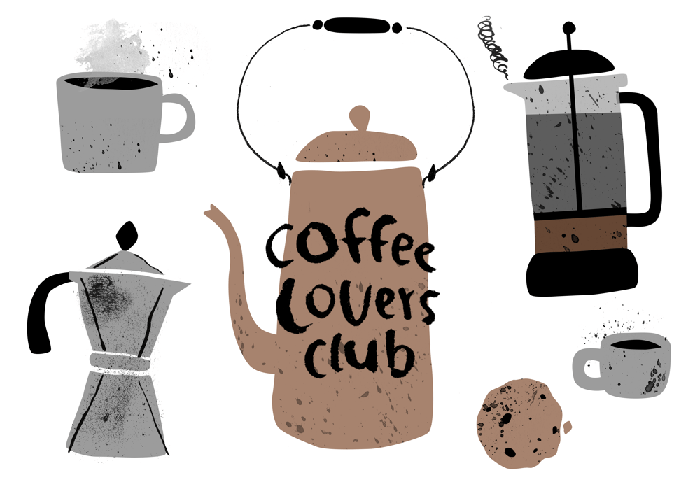 Coffee Lovers Club - image 2 - student project