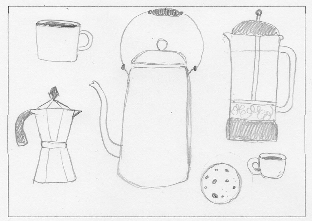 Coffee Lovers Club - image 1 - student project