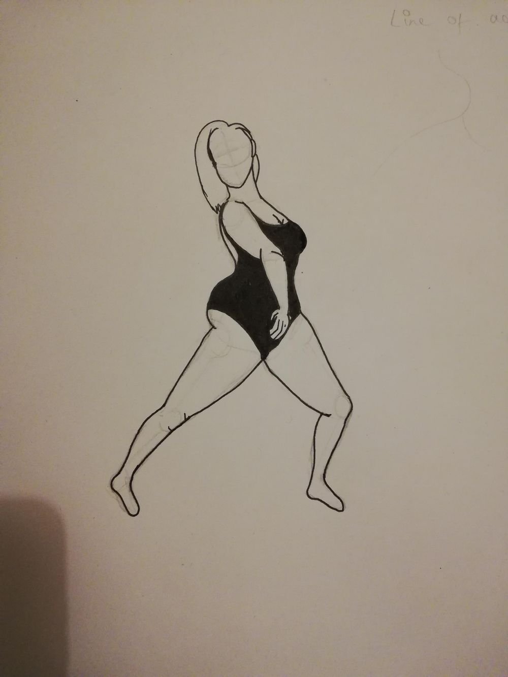 Pose practice - image 2 - student project