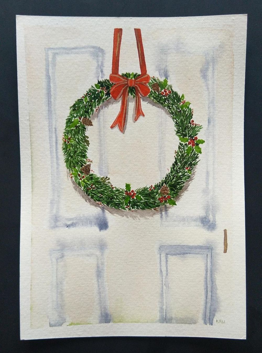 Christmas paintings - image 6 - student project