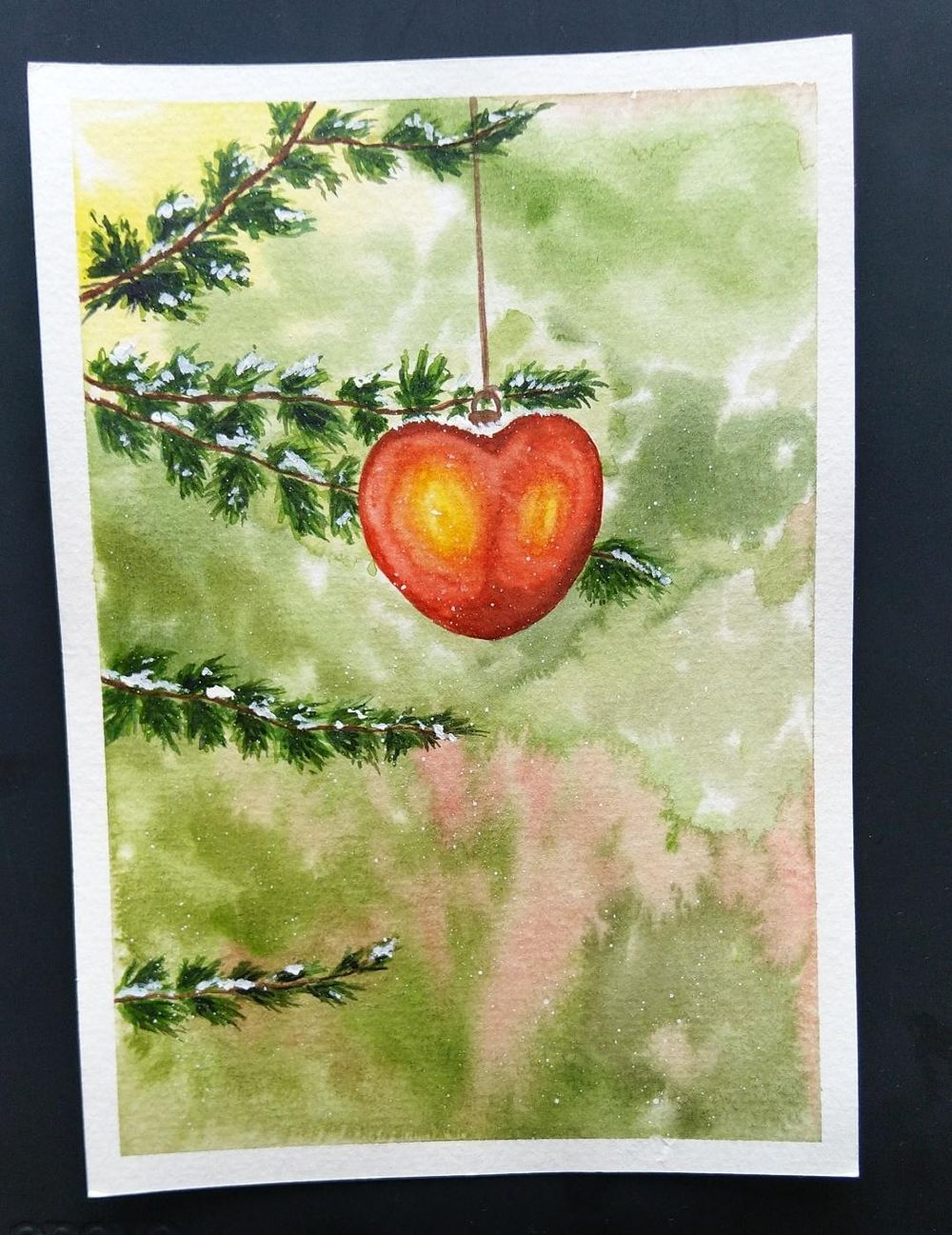 Christmas paintings - image 1 - student project