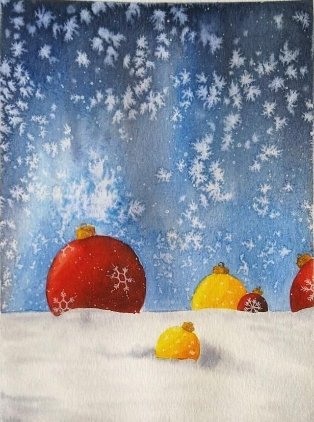 Christmas paintings - image 3 - student project