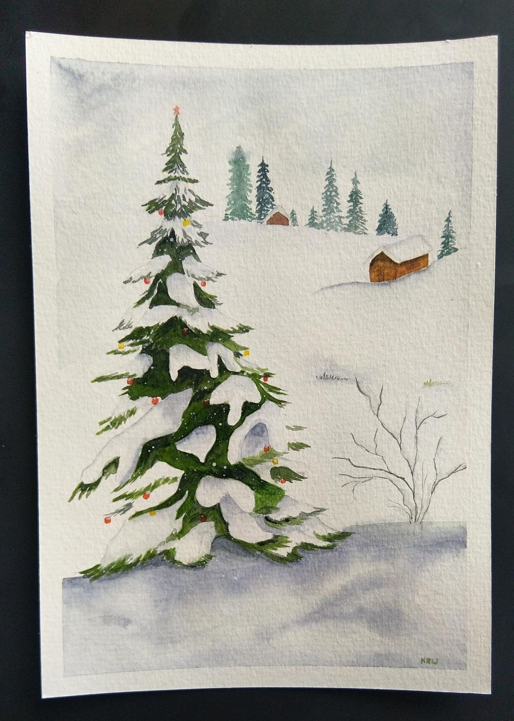 Christmas paintings - image 4 - student project