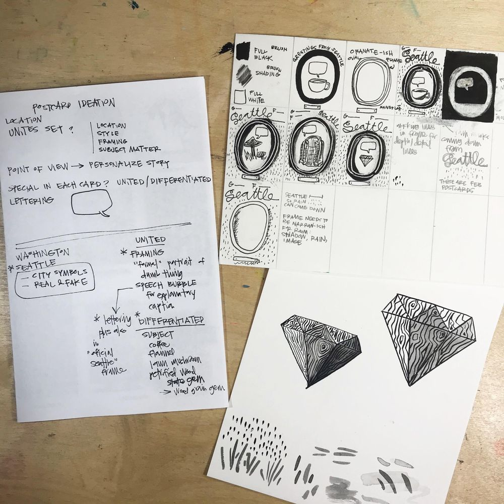 Imaginary Official Seattle Symbols - image 6 - student project
