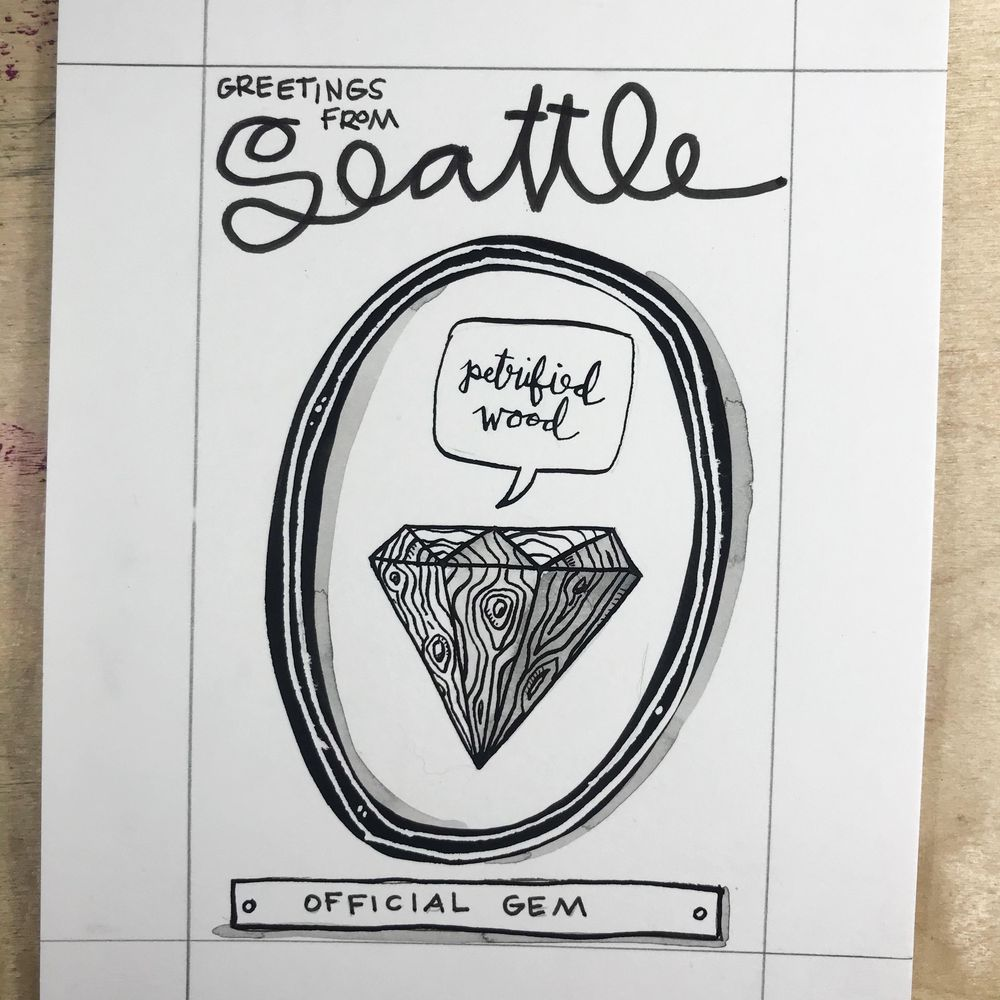 Imaginary Official Seattle Symbols - image 10 - student project