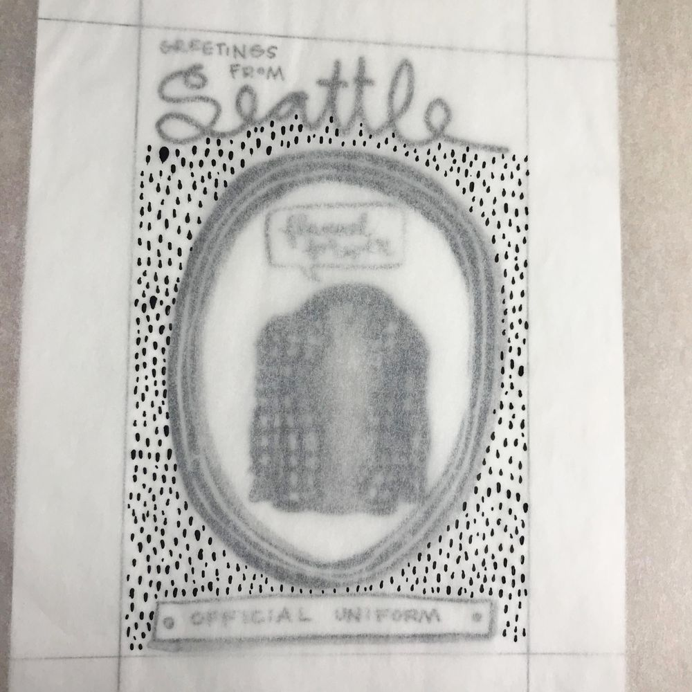 Imaginary Official Seattle Symbols - image 12 - student project