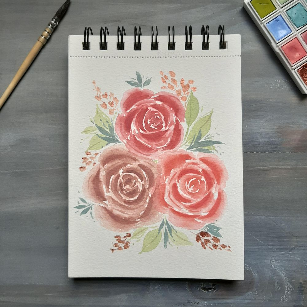 Rosas Pastel - image 1 - student project