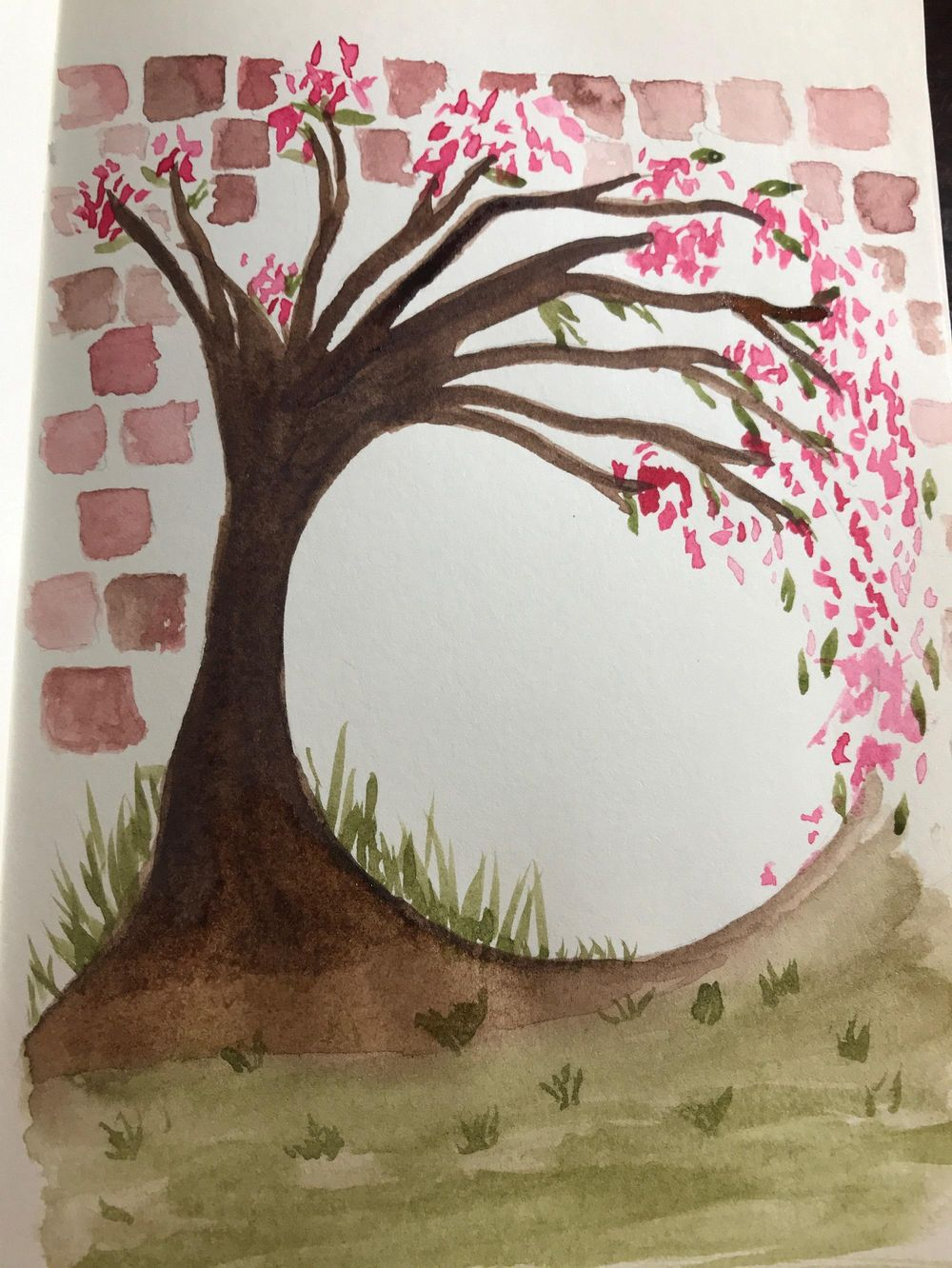 Cherry Blossom Wreath - image 1 - student project