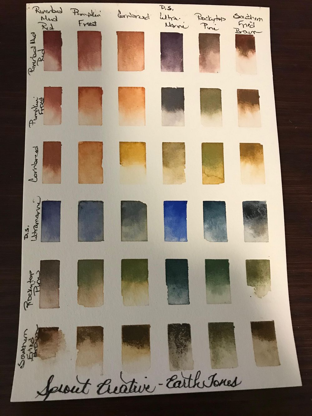 Creating Color Chart - Cohesive Color Palette - image 1 - student project