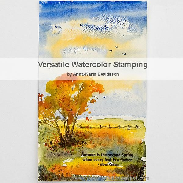 Versatile Watercolor Stamping - image 1 - student project