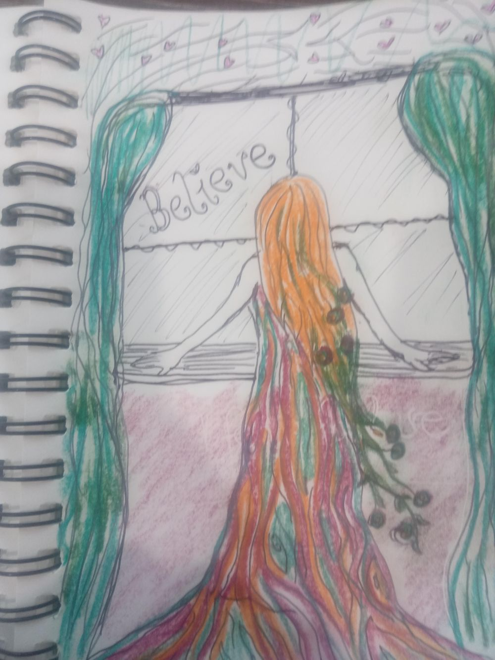 Visual Journaling drawing your feelings. - image 2 - student project