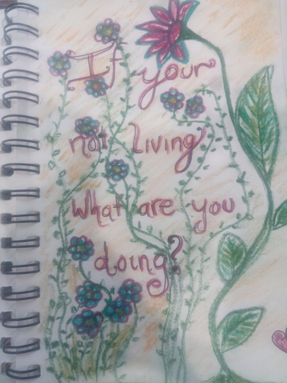 Visual Journaling drawing your feelings. - image 3 - student project