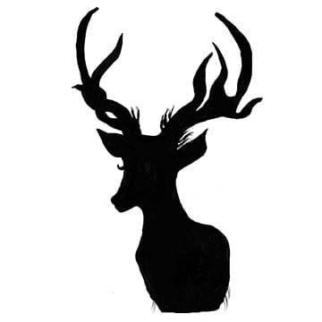 Elk Silhouette - image 2 - student project