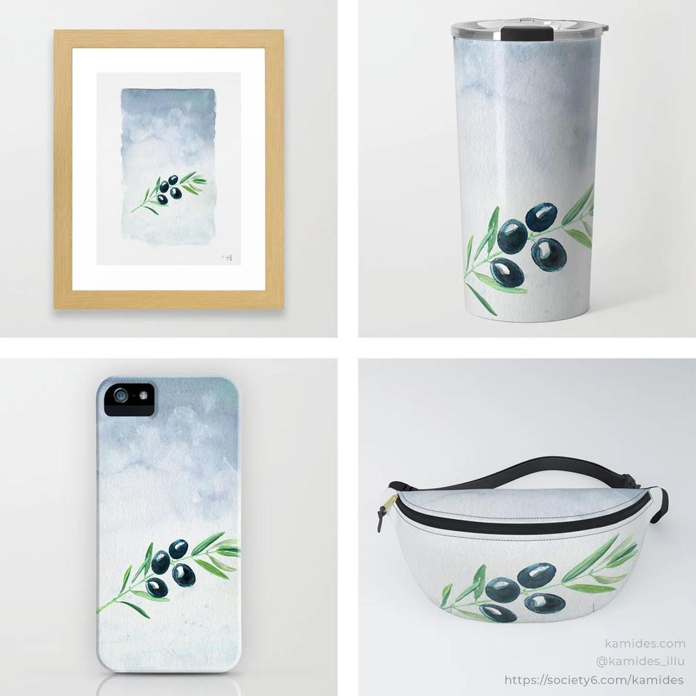 Products on Society6 and Redbubble - image 1 - student project