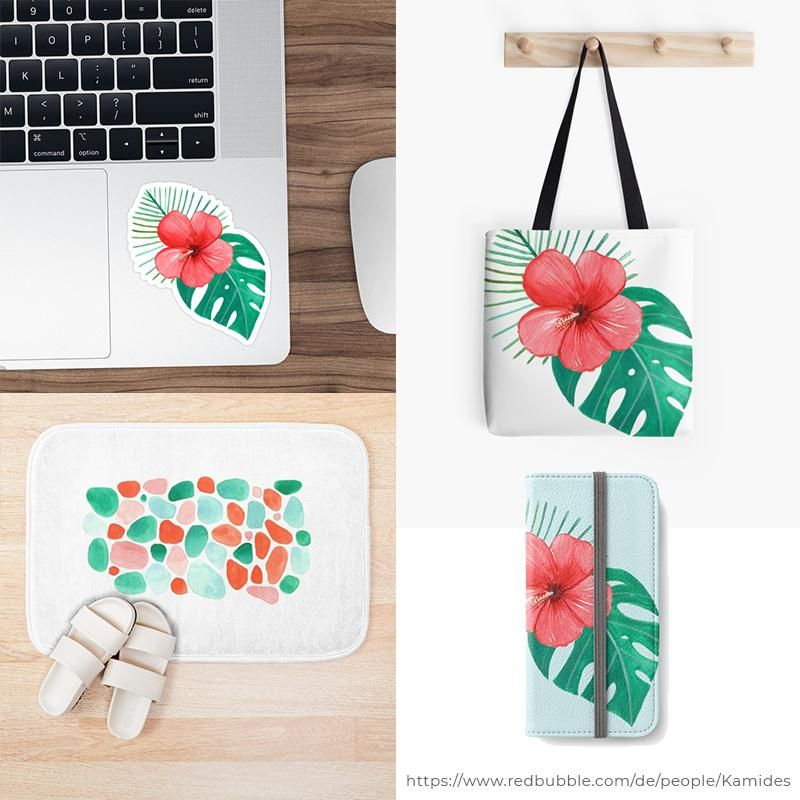 Products on Society6 and Redbubble - image 3 - student project