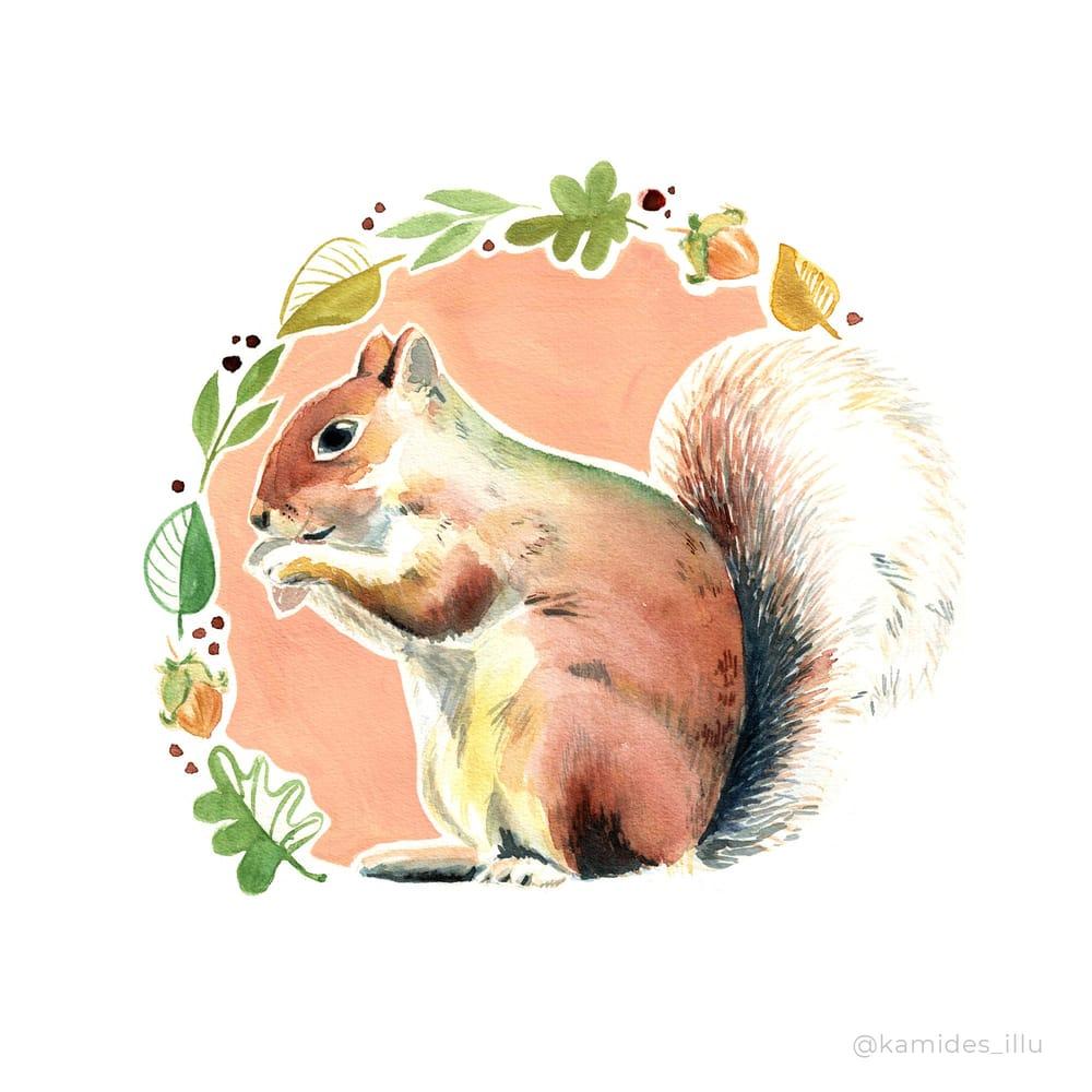 Seasonal Animal Portraits - image 2 - student project