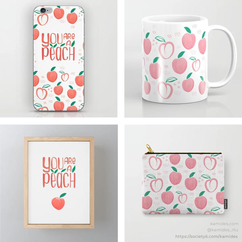 Products on Society6 and Redbubble - image 2 - student project